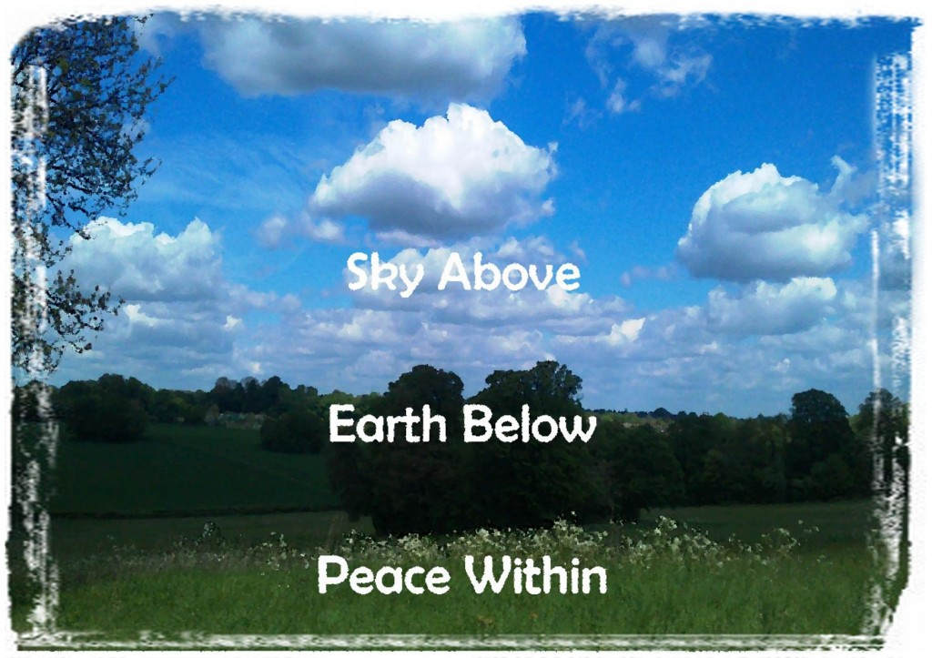 Sky Above Earth Below